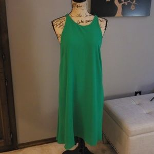 Mossimo Green High Low Dress